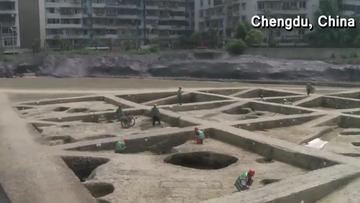 05-06-2017 18:30 Odkryli świątynię niemal 1000 lat po tym, jak zniknęła pod ziemią