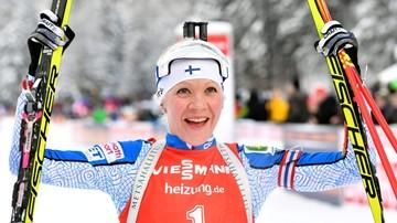 2017-01-15 PŚ w biathlonie: Wygrana Makarainen. Dobry występ Gwizdoń