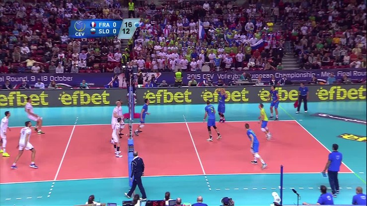Francja – Słowenia 3:0. Skrót meczu