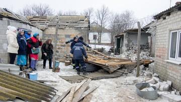 21-02-2017 18:47 Rosja przysłała separatystom w Donbasie konwój z pomocą. W tym specjalistyczny pojazd