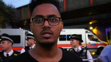 Świadkowie ataku w Londynie