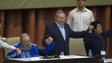 """19-04-2016 21:04 Raul Castro pozostanie na czele partii. Zapowiada """"stopniową wymianę pokoleniową"""""""