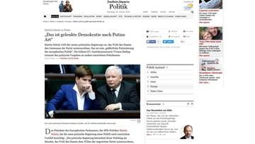 """09-01-2016 16:40 Martin Schulz o Polsce: """"Niebezpieczna putinizacja europejskiej polityki"""""""