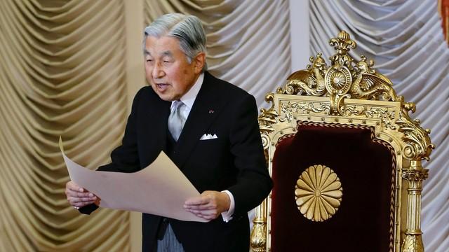 Japonia: cesarz sygnalizuje gotowość do abdykacji