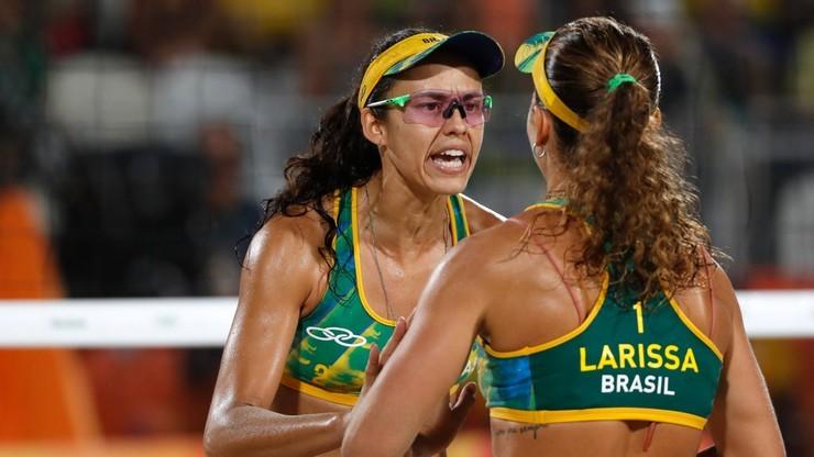 Brazylijskie pary najlepsze w siatkówce plażowej według FIVB