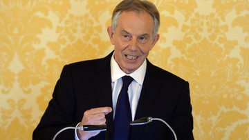 06-07-2016 17:12 Tony Blair przeprasza Brytyjczyków za interwencję w Iraku