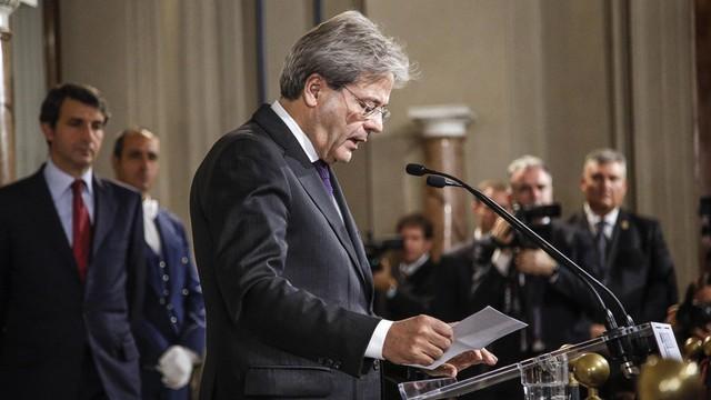 Włochy: rząd Paolo Gentiloniego zaprzysiężony