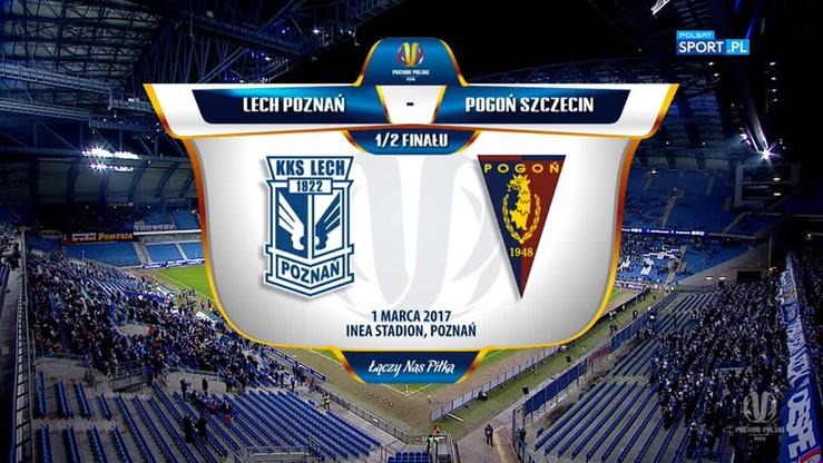 Lech Poznań - Pogoń Szczecin 3:0. Skrót meczu
