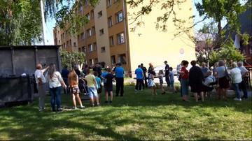 22-05-2016 19:02 Wybuch butli z gazem w Gliwicach. 5 osób rannych