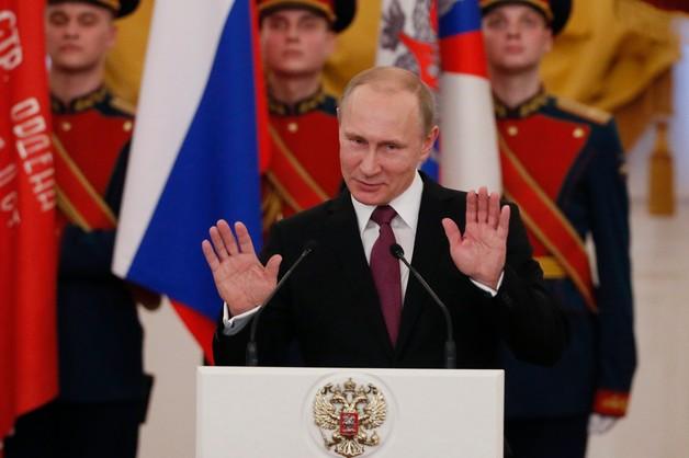 Putin: Rosja zawsze znajdzie odpowiedź na presję z zewnątrz