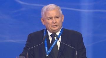 """02-07-2016 11:40 Kaczyński: """"Andrzej Duda, to był celny cios"""". Kongres PiS w Warszawie"""