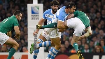 2015-10-18 Puchar Świata w Rugby: Osłabiona Irlandia poza turniejem, Argentyna w półfinale!