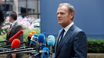 """28-06-2016 13:53 Tusk proponuje następny nieformalny szczyt """"27"""" we wrześniu"""