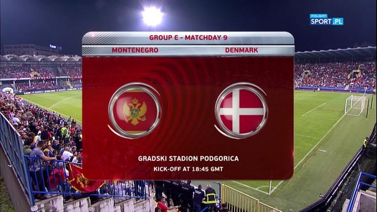 2017-10-05 Czarnogóra - Dania 0:1. Skrót meczu