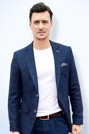 2017-11-22 Mateusz Damięcki wystąpił w teledysku Lady Pank