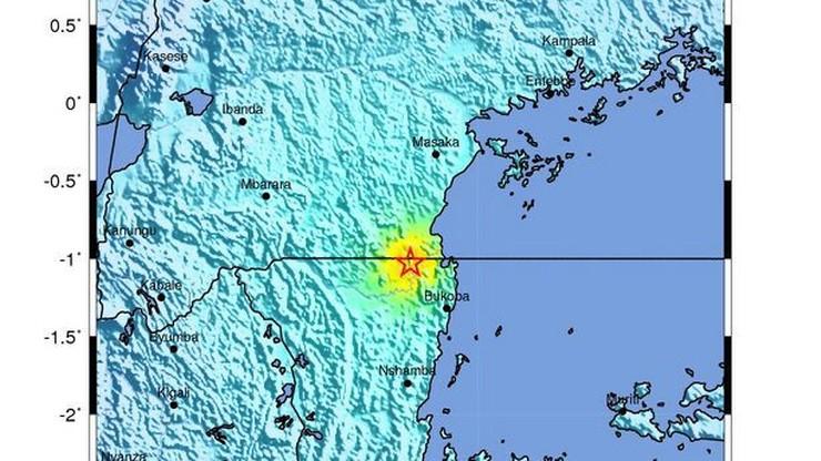 Trzęsienie ziemi w Tanzanii. Są ofiary