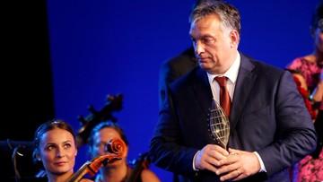06-09-2016 22:34 Orban uhonorowany nagrodą Człowieka Roku