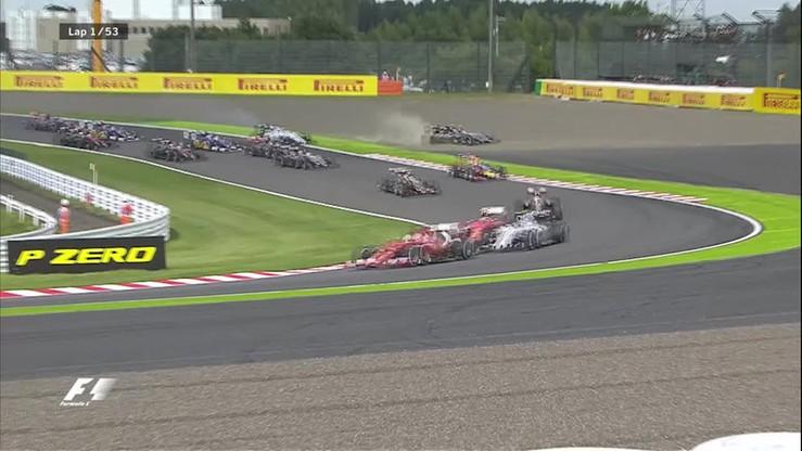 Pojedynek Mercedesów na starcie GP Japonii
