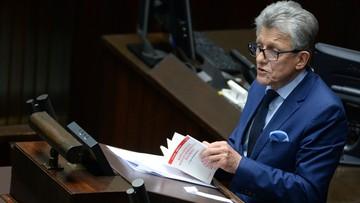 05-04-2017 20:09 Piotrowicz: sędziowie decydują, kto będzie sędzią i kto wybierze Krajową Radę Sądownictwa - debata o KRS