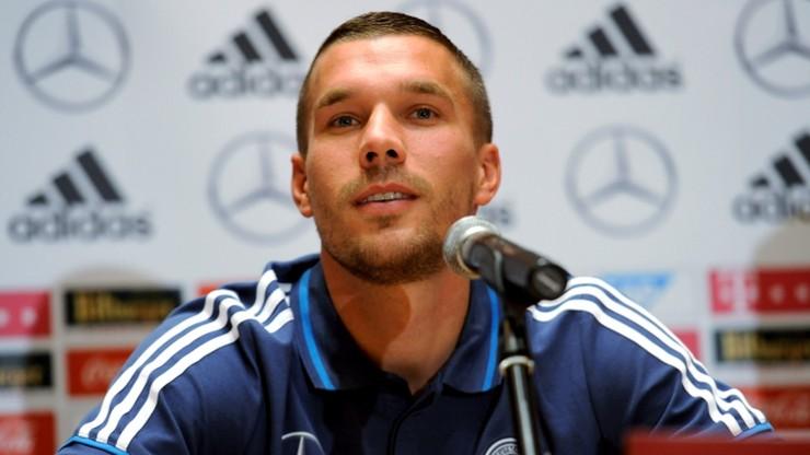 Podolski: Nie będę celebrował bramki przeciwko Polsce
