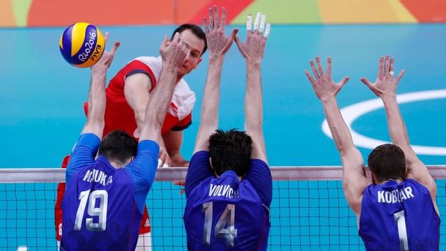 Rio - Siatkarze przegrali z Rosją 2:3