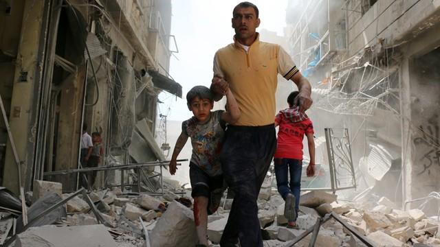 Wojna w Syrii kosztowała od 2011 roku życie ponad 345 tys. osób