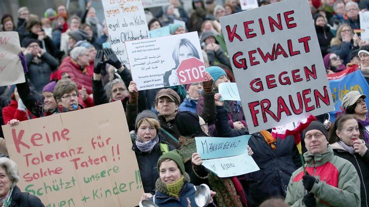Protesty w Kolonii. Po wydarzeniach z sylwestrowej nocy