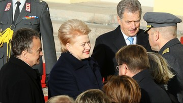 18-10-2016 13:17 Prezydent Litwy: Iskandery w obwodzie kaliningradzkim to demonstracja siły