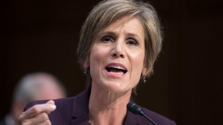 Była p.o. prokuratora generalnego USA: dwukrotnie ostrzegałam przed Flynnem