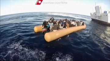 27-01-2016 06:24 Włochy: ponad 1200 migrantów z Afryki uratowano na Morzu Śródziemnym