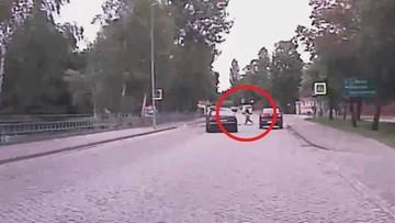 Potrącił 7-latkę na przejściu dla pieszych. Nie ustąpił pierwszeństwa