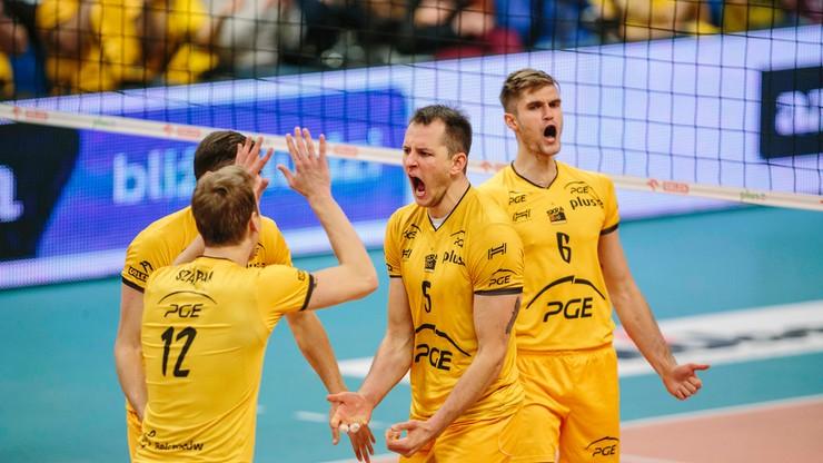 Liga Mistrzów: PGE Skra podejmie grupowych rywali w Łodzi i Bełchatowie