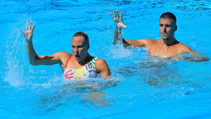 MŚ w pływaniu: Triumf włoskiego miksta w Budapeszcie