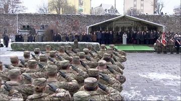 """""""Witamy reprezentantów najlepszej armii świata"""". Amerykańscy żołnierze w Żaganiu"""