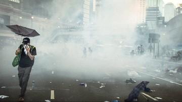 09-02-2016 19:29 Hongkong: zamieszki po zamknięciu tradycyjnych stoisk z żywnością