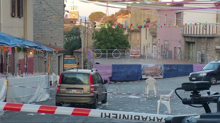 Samochód wpadł w tłum świętujący na ulicy. 31 rannych we Włoszech