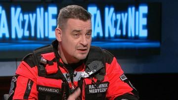 """17-10-2017 23:06 """"Szydzili ze mnie »ty pisiorze«"""". Ratownik medyczny w programie """"Tak czy Nie"""""""