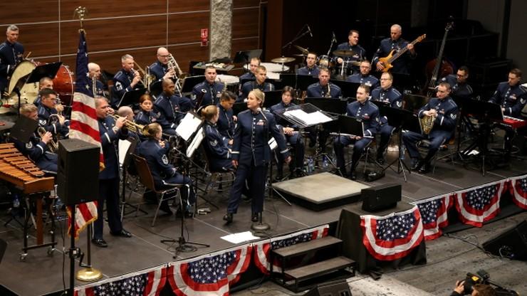 Amerykańska orkiestra wojskowa zachwyciła zakopiańską publiczność
