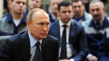 18-11-2016 14:07 Putin: celem Rosji neutralizacja zagrożeń dla jej bezpieczeństwa