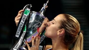 2016-10-30 Cibulkova: W finale miałam dużo szczęścia
