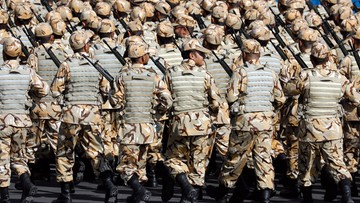 24-09-2017 13:05 Kolejna wielka armia przy granicy z irackim Kurdystanem. Iran rozpoczyna manewry wojskowe