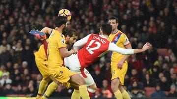 2017-01-01 Giroud zabawił sie w Ibrę! Gol Francuza ozdobą meczu Arsenalu z Crystal Palace
