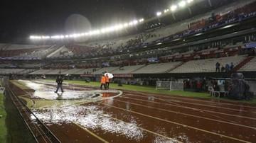2015-11-13 Mecz Argentyna - Brazylia przełożony przez... ulewę w Buenos Aires