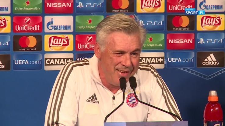 Ancelotti przed meczem z PSG: Nie martwcie się o moją posadę