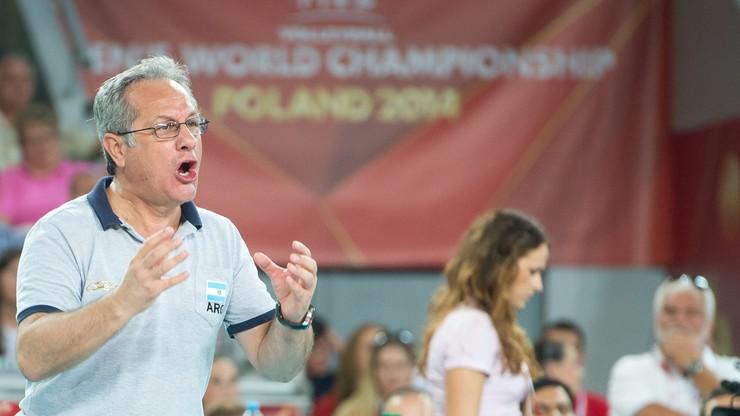 Julio Velasco trenerem reprezentacji do 2020 roku