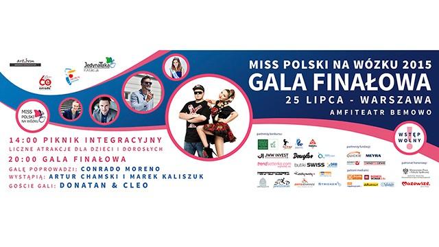 Superstacja Patronem Medialnym Gali Finałowej Miss Polski na Wózku 2015 – zapraszamy!