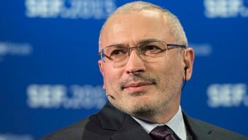 23-12-2015 15:00 Rosja znów chce aresztować Chodorkowskiego