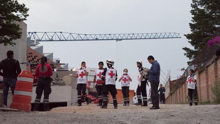 Wypadek na budowie parkingu w Meksyku. Co najmniej siedem osób nie żyje