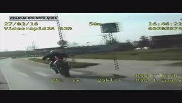"""31-03-2016 13:13 Rajd motocyklisty-pirata. Uciekał policjantom, """"bo się bał"""""""