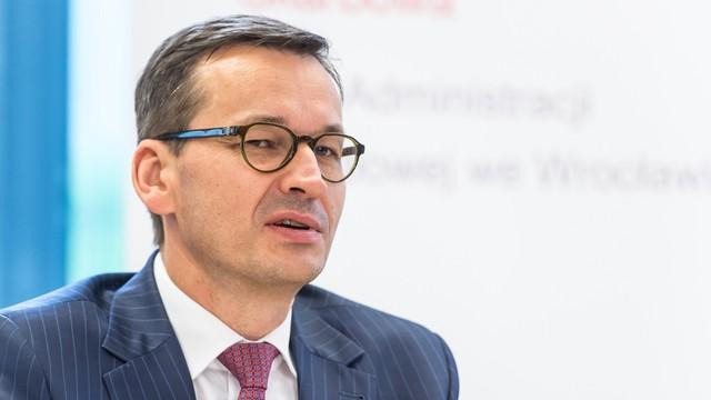 Morawiecki: wygramy walkę o uczciwy system podatkowy